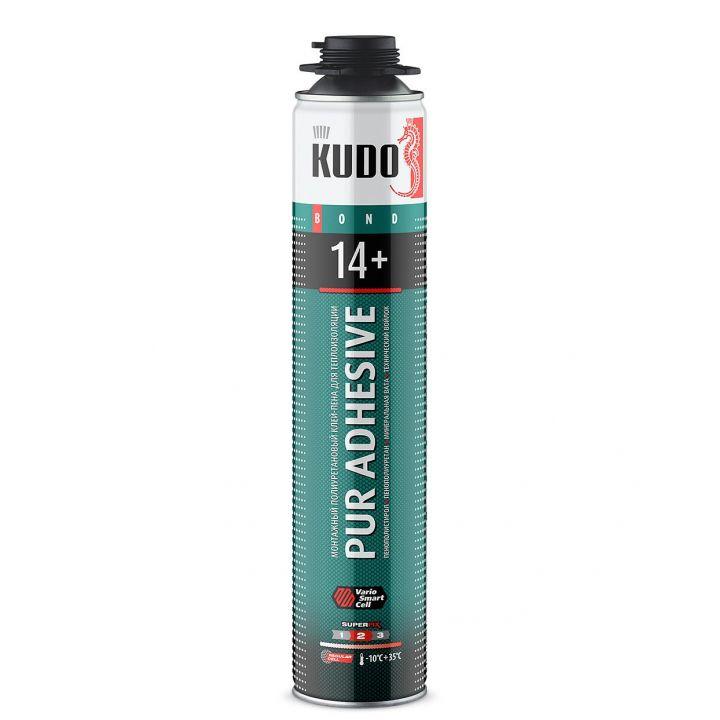 Клей-пена полиуретановый монтажный профессиональный всесезонный KUDO PROFF 14+ APS (KUPP10UAPS)