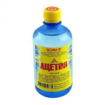 Ацетон, 0.5 л Ясхим / упаковка - 25 шт.