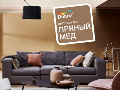 Цвет Dulux 2019 года Пряный Мёд